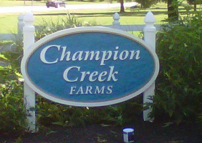next-day-signs-routed-hdu-champion-creeks
